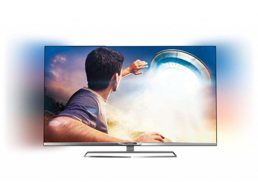 Может показаться на фото, что телевизор тонкий, но это не совсем так