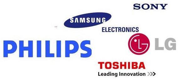 Несколько самых известных брендов